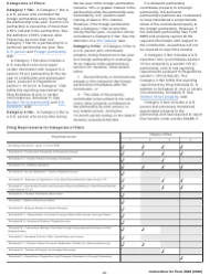 "Instructions for IRS Form 8865 ""Return of U.S. Persons With Respect to Certain Foreign Partnerships"", Page 2"