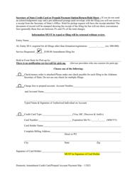 """Domestic Limited Liability Partnership (LLP ) Amendment to Statement of Limited Liability Partnership"" - Alabama, Page 3"