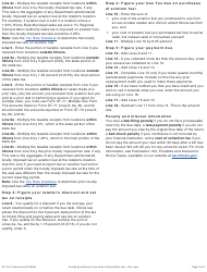 """Instructions for Form ST-70 """"Aviation Fuel Sales and Use Tax Return"""" - Illinois, Page 2"""