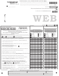 "Form F-1 ""Taxpayer Annual Local Earned Income Tax Return"" - Pennsylvania"