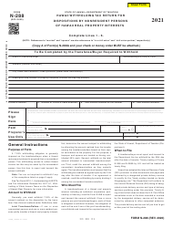"Form N-288 ""Hawaii Withholding Tax Return for Dispositions by Nonresident Persons of Hawaii Real Property Interests"" - Hawaii"