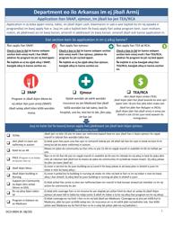 "Form DCO-0004 ""Application for Snap, Health Care, and Tea-Rca"" - Arkansas (Marshallese)"