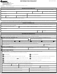 "Form CRD93 ""Information Request"" - Virginia"