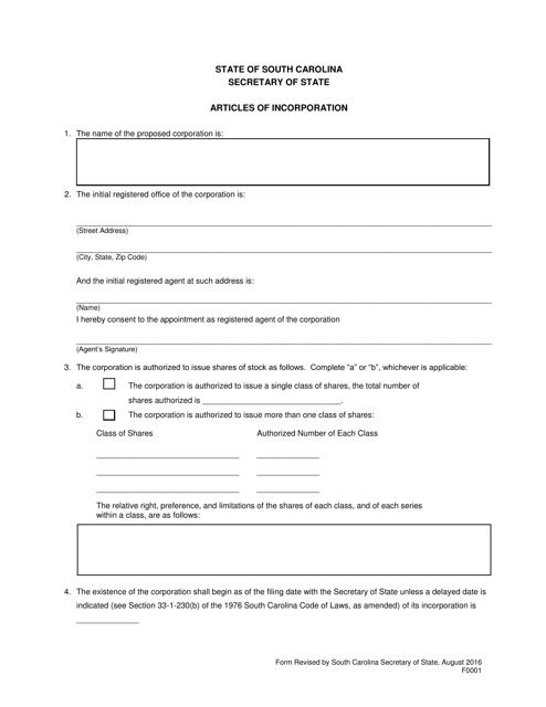 Form 0001  Printable Pdf