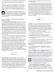 """Instructions for IRS Form 941 """"Employer's Quarterly Federal Tax Return"""", Page 10"""