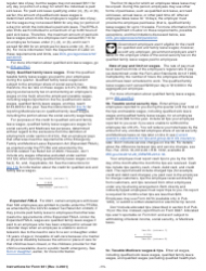"""Instructions for IRS Form 941 """"Employer's Quarterly Federal Tax Return"""", Page 11"""
