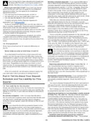 """Instructions for IRS Form 941 """"Employer's Quarterly Federal Tax Return"""", Page 16"""