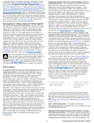 """Instructions for IRS Form 941 """"Employer's Quarterly Federal Tax Return"""", Page 2"""