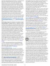 """Instructions for IRS Form 941 """"Employer's Quarterly Federal Tax Return"""", Page 3"""