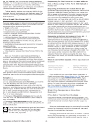 """Instructions for IRS Form 941 """"Employer's Quarterly Federal Tax Return"""", Page 5"""