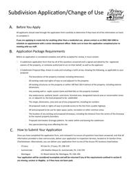 """Subdivision Application/Change of Use"" - Prince Edward Island, Canada"