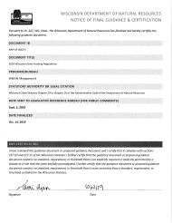"Form PUB-WM-431 ""Deer Hunting Regulations"" - Wisconsin, 2019"