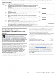 """Instructions for IRS Form 943-X """"Adjusted Employer's Annual Federal Tax Return for Agricultural Employees or Claim for Refund"""", Page 20"""
