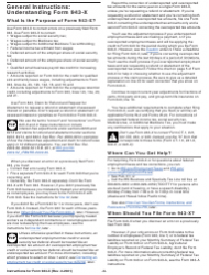 """Instructions for IRS Form 943-X """"Adjusted Employer's Annual Federal Tax Return for Agricultural Employees or Claim for Refund"""", Page 3"""