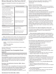 """Instructions for IRS Form 943-X """"Adjusted Employer's Annual Federal Tax Return for Agricultural Employees or Claim for Refund"""", Page 5"""