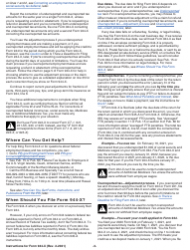 """Instructions for IRS Form 944-X """"Adjusted Employer's Annual Federal Tax Return or Claim for Refund"""", Page 3"""