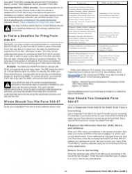 """Instructions for IRS Form 944-X """"Adjusted Employer's Annual Federal Tax Return or Claim for Refund"""", Page 4"""