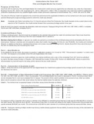 """Form 327 """"Film and Digital Media Tax Credit"""" - New Jersey, Page 3"""