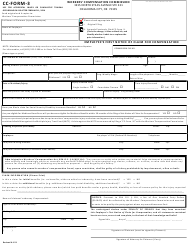 """CC- Form 3 """"Employee's First Notice of Claim for Compensation"""" - Oklahoma"""