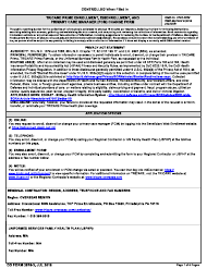 """DD Form 2876-3 """"TRICARE Prime Enrollment, Disenrollment and Primary Care Manager (PCM) Change Form (Overseas)"""""""