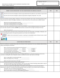 """Court Visitor Checklist"" - New Mexico"