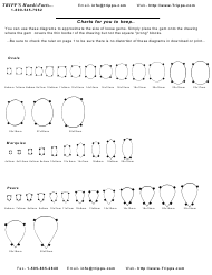 """""""Tripp's Gemstone Size Chart"""""""