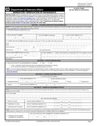 "VA Form 21-0538 ""Mandatory Verification of Dependents"""
