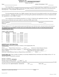 """""""Benefit Data Information Sheet"""" - Knox County, Maine"""