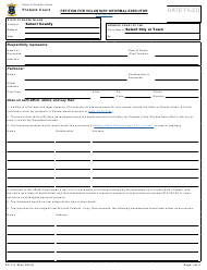 """Form PC-1.9 """"Petition for Voluntary Informal Executor"""" - Rhode Island"""
