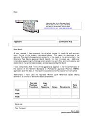 """Form REA-13 """"Summary and Transmittal Form"""" - Oklahoma"""