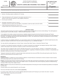 "Form SC SCH.TC-63 ""South Carolina Housing Tax Credit"" - South Carolina"