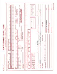 """Form BOP-PA-NP """"Non-permanent Payroll Form"""" - South Dakota"""