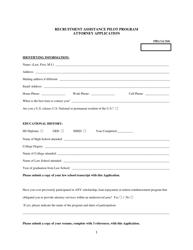 """Rural Attorney Recruitment Application"" - South Dakota"