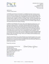 """""""Pace University Acceptance Letter"""""""