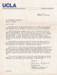 """Ucla Acceptance Letter"""