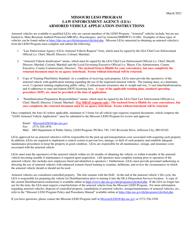 """Law Enforcement Agency (Lea) Armored Vehicle Request"" - Missouri"