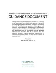 """Form DD-11 """"Notification of Death Provider Report"""" - Nebraska"""