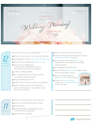 The Complete Wedding Planning Checklist