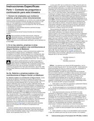 """Instrucciones para IRS Formulario 941-PR """"Planilla Para La Declaracion Federal Trimestral Del Patrono"""" (Puerto Rican Spanish), Page 12"""