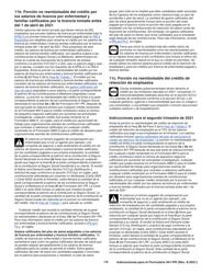 """Instrucciones para IRS Formulario 941-PR """"Planilla Para La Declaracion Federal Trimestral Del Patrono"""" (Puerto Rican Spanish), Page 16"""