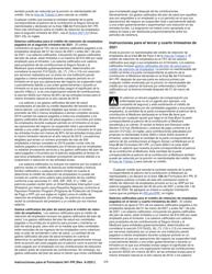 """Instrucciones para IRS Formulario 941-PR """"Planilla Para La Declaracion Federal Trimestral Del Patrono"""" (Puerto Rican Spanish), Page 17"""
