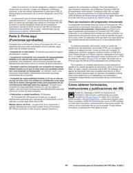 """Instrucciones para IRS Formulario 941-PR """"Planilla Para La Declaracion Federal Trimestral Del Patrono"""" (Puerto Rican Spanish), Page 26"""
