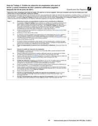 """Instrucciones para IRS Formulario 941-PR """"Planilla Para La Declaracion Federal Trimestral Del Patrono"""" (Puerto Rican Spanish), Page 30"""