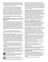 """Instrucciones para IRS Formulario 941-PR """"Planilla Para La Declaracion Federal Trimestral Del Patrono"""" (Puerto Rican Spanish), Page 9"""
