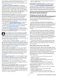 """Instructions for IRS Form 941-SS """"Employer's Quarterly Federal Tax Return - American Samoa, Guam, the Commonwealth of the Northern Mariana Islands, and the U.S. Virgin Islands"""", Page 6"""