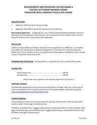 "Form VS-DEC ""Viatical Settlement Broker Declaration Form"" - Nebraska"