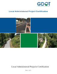 """""""Local Administered Projects Certification Application"""" - Georgia (United States)"""