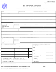 "SBA Form 770 ""Financial Statement of Debtor"""