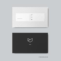 """Minimalist Business Card Template"""