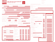 """UCC Form F140 """"Fire Protection Subcode Technical Section"""" - New Jersey"""